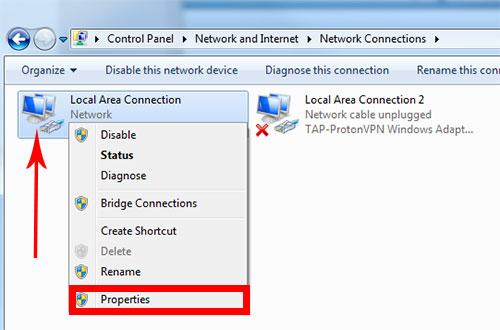 آموزش شبکه کردن سیستم ویندوز