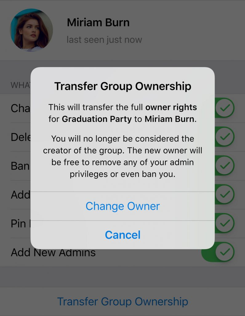 آپدیت جدید تلگرام، چت مبتنی بر موقعیت مکانی(شبیه به ویجت و بی تالک)