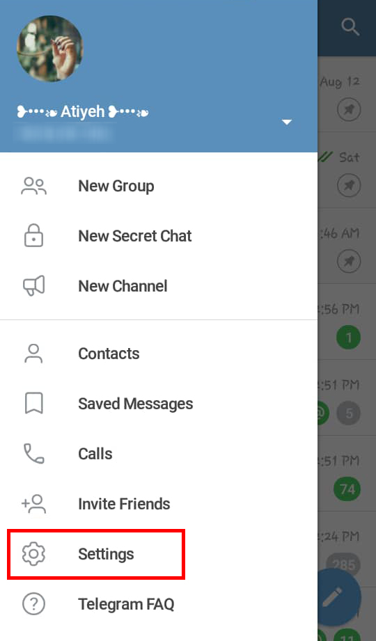 بازگردانی مخاطبان حذف شده تلگرام ، بازیابی مخاطبین تلگرام بدون نیاز به برنامه جانبی