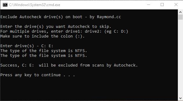 حذف چک دیسک ، سه روش غیرفعال سازی Check Disk