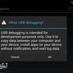 پس از انجام این کار پیغام You are Developer نمایش داده می شود