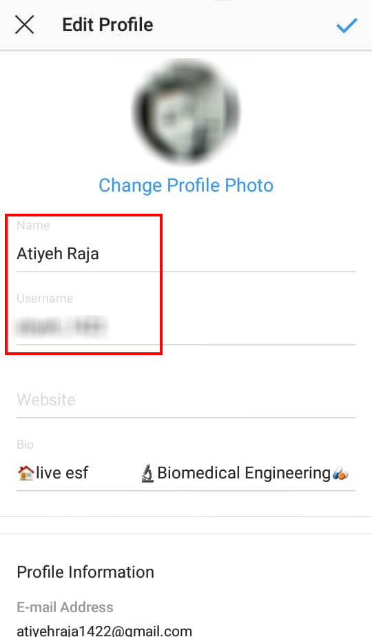 روش تغییر نام کاربری اینستاگرام