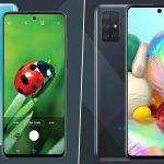 رونمایی از گوشی های میان رده سامسونگ ، Galaxy A51 و Galaxy A71