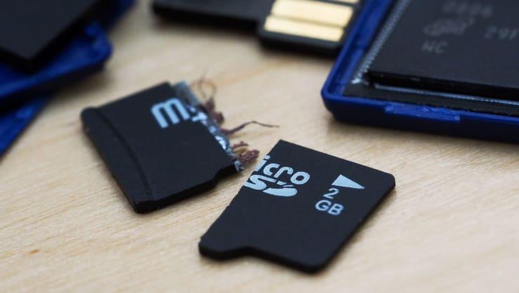 روش های رفع مشکل عدم شناسایی و خواندن SD کارت
