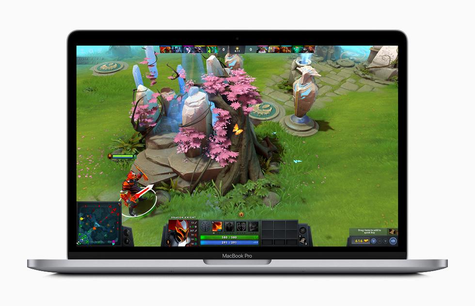 مک بوک پرو 13 اینچی اپل با پردازنده نسل دهم اینتل و Magic Keyboard معرفی شد